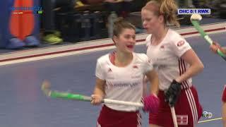 1. Hallenhockey-Bundesliga Damen DHC vs. RWK 23.12.2017 Highlights