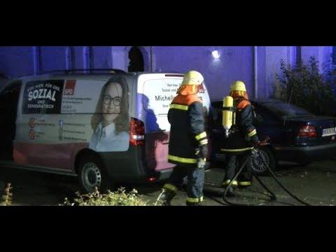 Hass in Herne: Autos von SPD-Politikerin Michelle Müntefering in Flammen