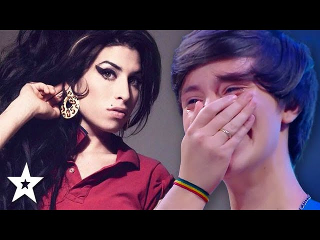 AMAZING Amy Winehouse Singer CRIES At Judge's Comments! | Got Talent Global