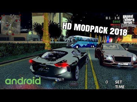 Super- Premium HD Modpack  2018 GTA SA Android