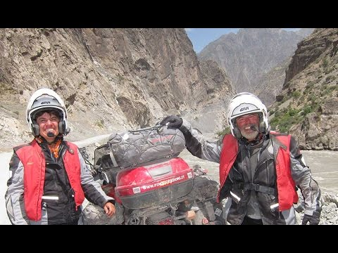 IRAN PAMIR MONGOLIA SIBERIA by Motorcycle