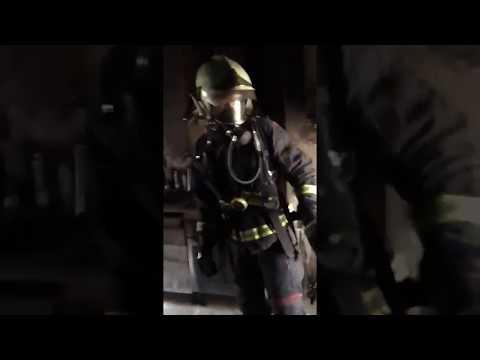 Cerrar la puerta en este incendio le ha salvado la vida