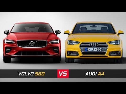 2019 Volvo S60 Vs Audi A4 ► Design & Dimensions