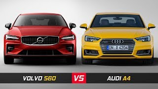 2019 Volvo S60 Vs Audi A4 ► Design & Dimensions