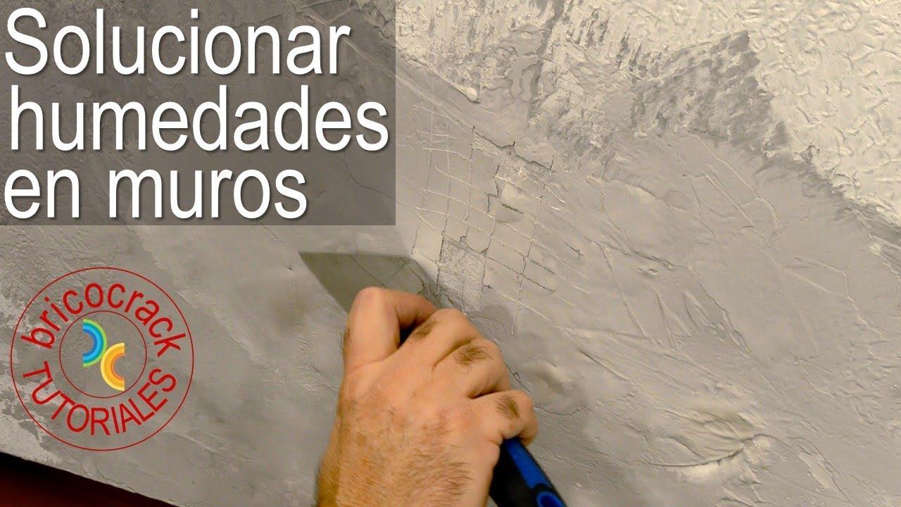 Reparar y pintar muros h medos bricocrack youtube - Como quitar pintura de la pared ...