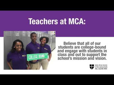 Why Work at Milwaukee Collegiate Academy?