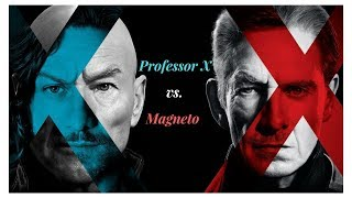 X-Men - Professor X and Magneto: Opposing Ideologies