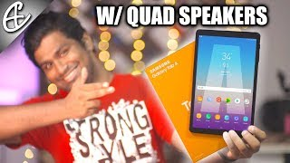 A Tablet BIGGER Than My Face - Samsung Galaxy Tab A 10.5 Unboxing & Hands on Review!!!