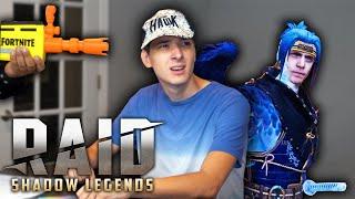 Wait… Fortnite Ninja is in Raid Shadow Legends?!?