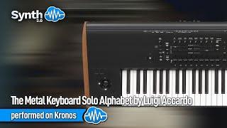 The Metal Keyboard Solo Alphabet by Luigi Accardo performed on Kronos ( S4K Team Space4Keys )