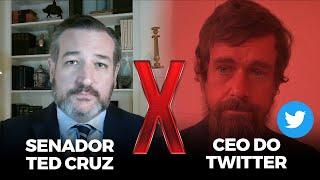 HISTÓRICO: Senador EMPAREDA chefe do Twitter sobre a censura!