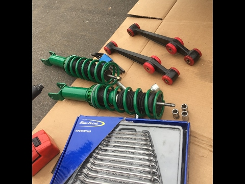 Tein Street Basis Coil-overs for Honda Civic Coupe