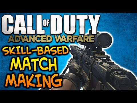 Skill Based Matchmaking Is In Advanced Warfare! - COD AW Long Killstreak Sniping
