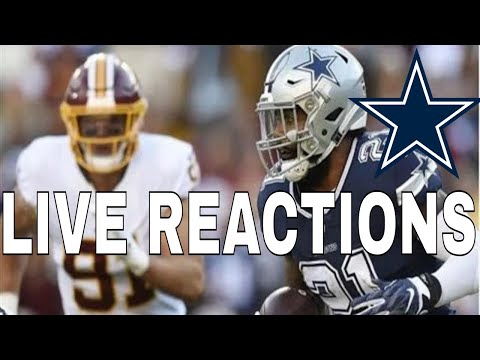 Dallas Cowboys Vs Washington Redskins | Live Reaction Part 2