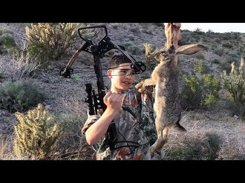 Rabbit Hunting With A Crossbow: Review, Stalk And Hunting Rabbits Demo