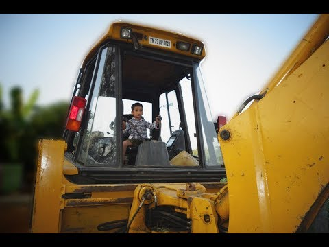 Kids Working with Big Jcb | Kids Video | for Children | jcb working video