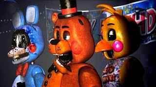 The Return's To Abomination's Night 1 *Withered Toy Animatronics*
