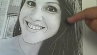 How to Draw a Realistic Self-Portrait- Transfer/Trace Technique
