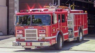 (Air Horn) Pasadena Fire Dept. Engine 31