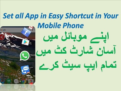 how to add shortcuts on mobile android