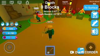 Game digging to make money on ROBLOX