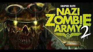 Прохождение Sniper Elite Nazi Zombie Army 2 Миссия 5 ► 2018