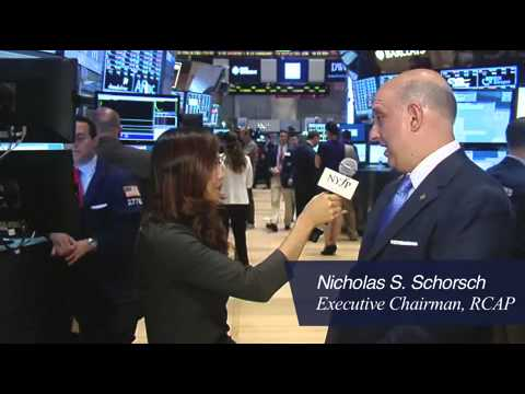 RCS Capital Corporation commemorates recent IPO at NYSE