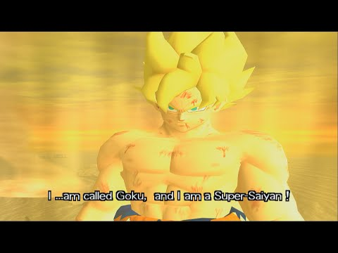 Dragon Ball Z Budokai Walkthrough Part 5 - SSJ Goku vs Frieza 100% Power (PCSX2 + Sweetfx)