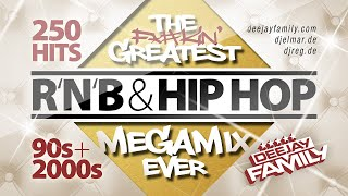 Download Mp3 The Greatest RnB Hip Hop Megamix Ever 90s 2000s 250 Hits Best Of Old School