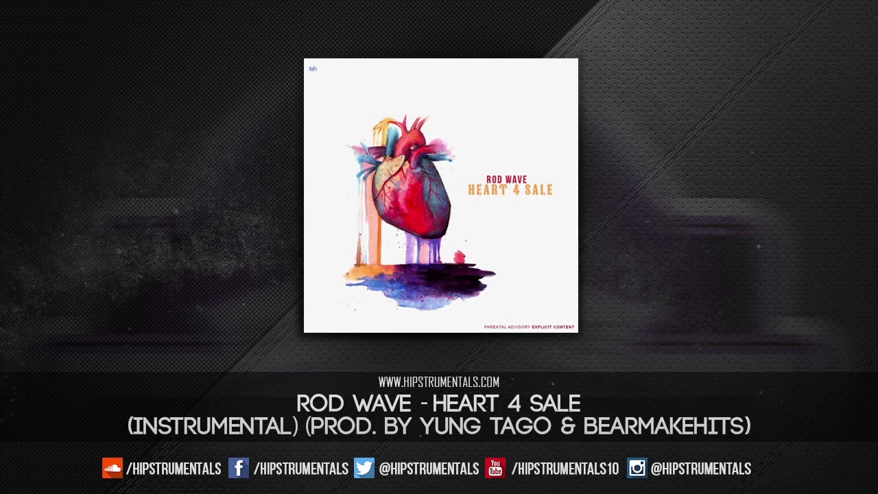 Repeat Rod Wave - Heart 4 Sale [Instrumental] (Prod  By Yung