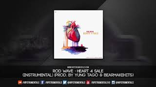 Rod Wave - Heart 4 Sale [Instrumental] (Prod. By Yung Tago & BearMakeHits) + DL via @Hipstrumentals