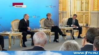 Путин vs Меркель, Скандал из за Pussy Riot 16.11.2012(