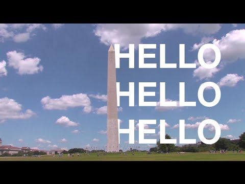 Hello Hello Hello from Washington D.C. #EFHello50 #Washington