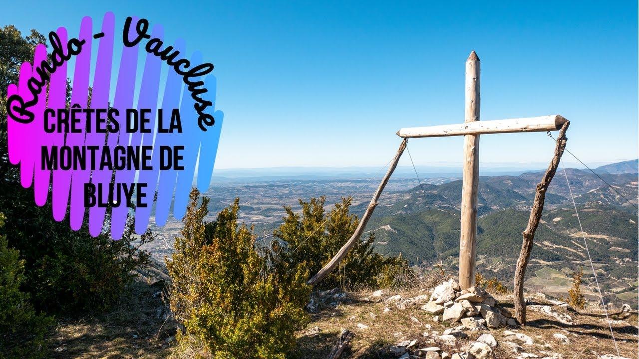 Randonnée Vaucluse - Crêtes de la Montagne de Bluye
