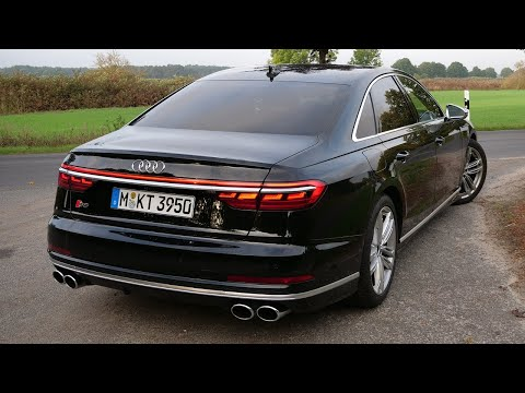2020 Audi S8 - Drive & Sound - AUTOBAHN TOP SPEED POV