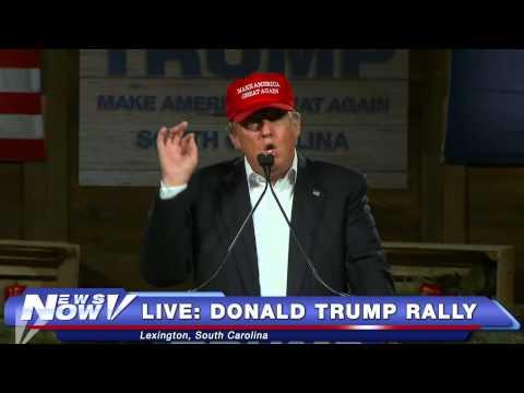 FULL Donald Trump Rally Lexington, South Carolina 1/27/16