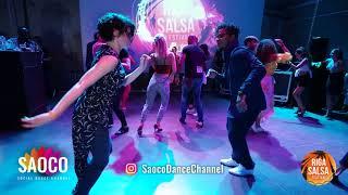 J York Djyork and Anna Melkova Salsa Dancing at Riga Salsa Festival 2018, Saturday 11.08.2018