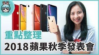 Apple 2018蘋果秋季發表會- iPhone XS. iPhone XS Max. iPhone XR特色.售價與上市時間總整理!