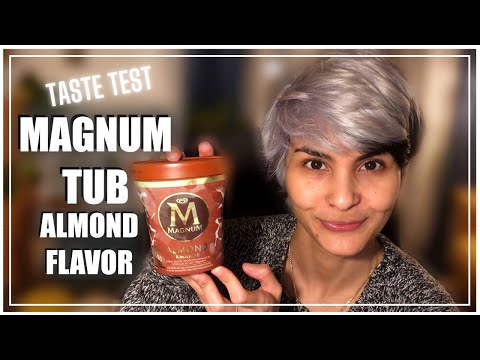 MAGNUM ICE CREAM PINT REVIEW || THAT CHOCOLATE CRACK! || Ice Cream Tub Taste Test || ShirEats