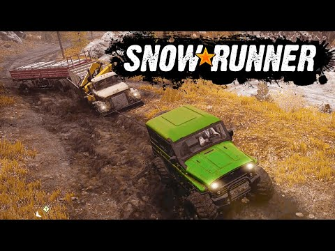 SnowRunner 2020 - Полный Привод для Грязи не Помеха (SpinTires, MudRunner) Мичиган #6
