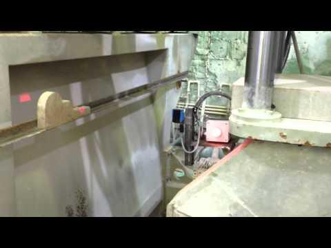Модернизация станка YTQJ-600 для распила камня по шаблону