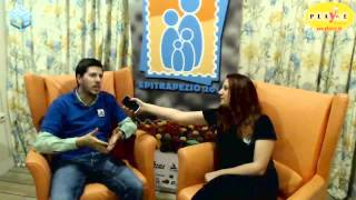 [Interview] Epitrapezio 2014 - Χρήστος Τζαφόλιας, Desyllas Games