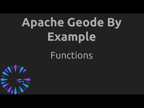 Apache Geode By Example - #4 Functions