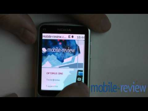 Nokia S40 Touch&Type Browser Demo