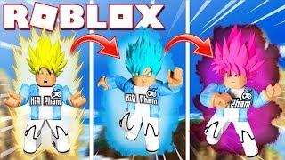 Roblox | IF THE OTHER TURNS INTO SUPER SAIYAN PINK-Saiyan Simulator | KiA Pham