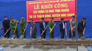 Tin Tức 24h Mới Nhất : Khởi công xây dựng 3 ngôi nhà cho người nghèo ở vùng cao Nho Quan