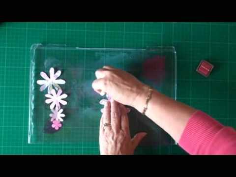 hand made paper flowers card making magiccom
