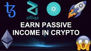 Earn Passive Income in Crypto 2020 | Ethereum, Tezos, Cardano & Zilliqa!