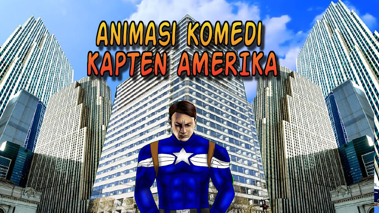 Marvel The Marvelous - Animasi Kartun Lucu Kapten Amerika