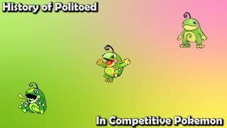 How GOOD was Politoed ACTUALLY? - History of Politoed in Competitive Pokemon (Gens 2-7)